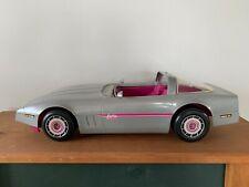 Vintage Mattel 1983 Barbie Silver Convertible Corvette Car #4934-2109 USA