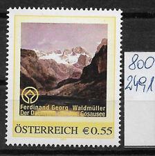 Österreich PM personalisierte Marke Gemälde Waldmüller Dachstein 8002491 **