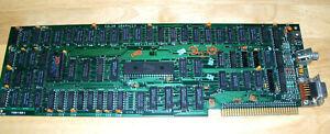"""VINTAGE IBM """"COLOR GRAPHICS"""" 1501981 CIRCUIT BOARD, 1980'S"""