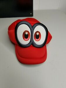 Super Mario Odyssey Cappy Plush Hat Cosplay Cap Costume Halloween Gift Official