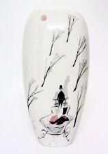 Rosenthal Fischmaul Vase Entwurf: Lis Müller 50er Jahre, handgemalt