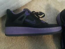 Nike Air Force 1 AF1 Purple   BLACK JORDANS US 8.5 MENS 6749b8885