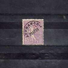 FRANCE Préoblitéré n° 46 neuf avec charnière