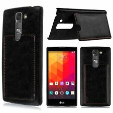 Leather Card Pocket Wallet Cases for LG Mobile Phones