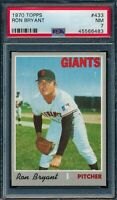 1970 Topps Set Break # 433 Ron Bryant PSA 7 *OBGcards*
