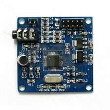 VS1003 MP3 Module supports MP3 MP3+V WMA WAV MIDI  Decoding On-board Microphone