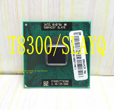 2X Intel Core 2 Duo T8300 (SLAYQ) 2.40GHz / 3M / 800 MHz / Notebook processor