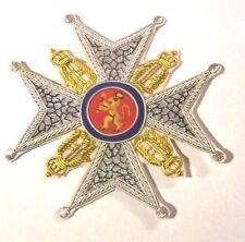 Norway Royal King Order Saint Olaf Olav Medal Service Merit Star Knight Award EU