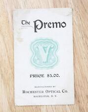 Rochester Optical Premo V Sales Brochure/cks/194445