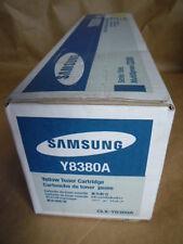Samsung Yellow Toner Cartridge (CLX-Y8380A) Genuine