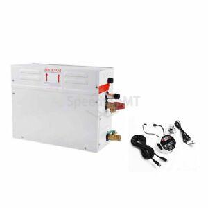 6KW Steam Bath Generator Home Shower System Kit Digital Control Sauna Steamer