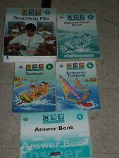 NHM NEW HEINEMANN MATHS 4th Grade 4 Teaching File+Textbook+Assessment+Answer Boo
