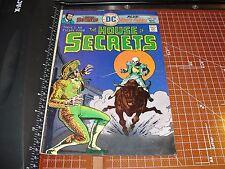HOUSE of SECRETS #137 DC Comics November 1975 Abel's Fables - Matador Fears