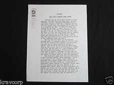 NITTY GRITTY DIRT BAND—1994 PRESS RELEASE