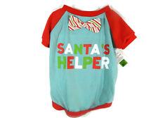 Martha Stewart Dog Shirt Large Santa's Helper Pet Apparel Christmas New