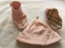 BURBERRY london  bonnet + hat Size 3 Mose