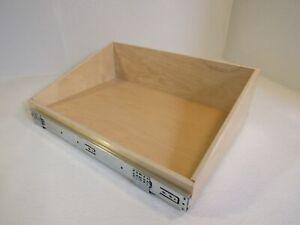 ShelfGenie Slideout Cabinet Shelf 22-7/8in L x 15-3/4in W x 7in H Birch Plywood