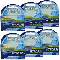24 Wilkinson Hydro 5 Power Select Rasierklingen Neu Original Verpackt