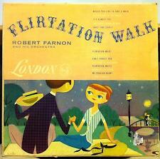 ROBERT FARNON flirtation walk LP VG+ LL 1053 UK Mono Vinyl 1A/1A w/BILL McGUFFIE