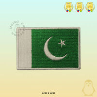 Pakistan National Flag Embroidered Iron On Sew On Patch Badge For Clothes Etc