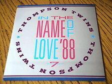 """Thompson Twins-en nombre del amor'88 Vinilo De 7"""" PS"""