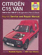 Citroen C15 Van Service and Repair Manual by Michael Gascoigne (Hardback, 1999)