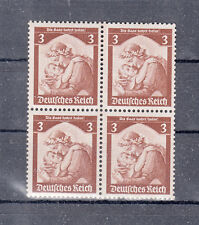 "5045) German Empire Third Reich 1935 mint never hinged ""The Saar returns home"" 3"