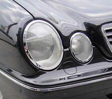 Mercedes Clase E W210 W170 95-02 Cromada Faro Trim