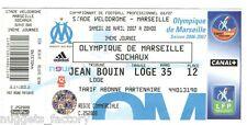 Billet  / Place  OM Olympique de Marseille - OM vs FC Sochaux  ( 062 )