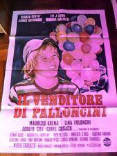 Manifesto IL VENDITORE DI PALLONCINI 1975 Renato Cestiè, Marina Malfatti