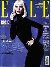 ELLE UK October 2013 ROSIE HUNTINGTON-WHITELEY Ilse De Boer NAOMI CAMPBELL
