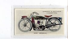 (Jt275-100) Lambert & Butler,Motor Cycles, New Imperial ,1923 #33
