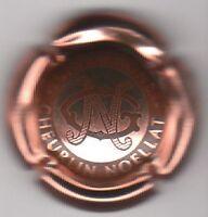 capsule de champagne CHEURLIN NOELLAT, rosé écriture noire