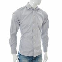 ETON Men's Contemporary Fit Shirt Button Down Long Sleeve Gingham Check Size 39