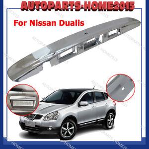 Tailgate Door Handle Garnish Cover Fits For Nissan Dualis J10  Ti/TiL Chrome AU