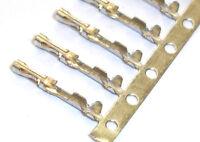 200pcs Molex 2520 2.54mm Female Connector Crimp Contact Pin Terminal Copper-Tin