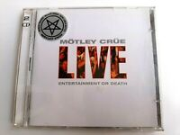 Motley Crue Live Entertainment Or Death 2CD 2003 Brand New