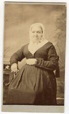 CDV Photo-Danville, Pennsylvania-McMahan & Irland Studio-Older Lady W/Bonnet