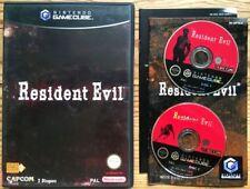 RESIDENT EVIL COMPLET EN BOÎTE AVEC NOTICE 2 CDs GAMECUBE PAL FRANÇAIS CIB OVP 1