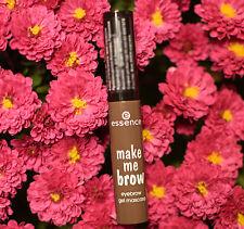 ESSENCE make me brow eyebrow gel mascara beautifully defined and full eyebrows