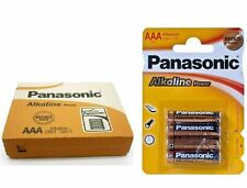 48 X PILES PANASONIC (1,5V) AAA ALCALINE ALCALINE LR3 LR03 LR3T/4B 12 EMBALLAGE