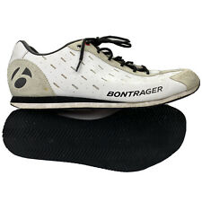 Men's 11 - Bontrager Podium White Leather Multisport Cycling Walking Sneakers