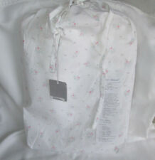 Rachel Ashwell Couture Twin Flat Sheet Pearl Pink Shabby Chic floral