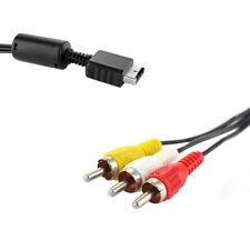 AV/TV Audio Video Cinch Kabel Scart Adapter SONY Playstation 1 2 3 PS2 PS3 1,8m