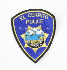 Patch de la police US : EL CERRITO