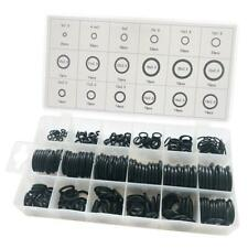 279x Black Universal Rubber O-Ring Assortment Set Gasket Automotive Seal Kit