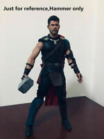 """1/6 Thor hammer Weapon Props Model F 12"""" Figure Body Collection Accessories Toy"""