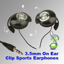 Sports Headset Clip On Stereo Headphones Earphone For MP3 MP4 Player Cell Phone