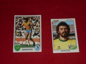 Socrates (+)  BRASIL - World Cup 1982 - 1986 - Panini - Corinthians