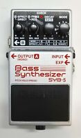 BOSS SYB-5 Base Synthesizer Guitar Effects Pedal 2009 #18 with Box Free Shipping